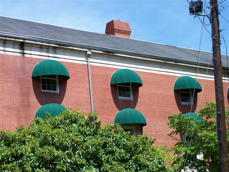 Apartment Complex Dome Awnings